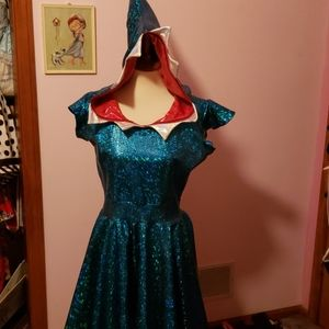 Coquetry Clothing Shark Costume Size L /XL EUC